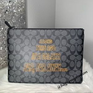 Coach x Star Wars Large Pouch